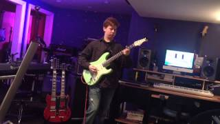 Man On The Silver Mountain Solo Cover 15 Year Old Tyler Morris