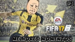 FIFA 17 - JAVANDO TUDO - Melhores Momentos Engraçados #1