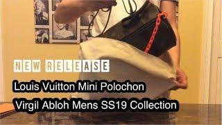 New Release! Louis Vuitton Mini Polochon Virgin Abloh Men's SS19