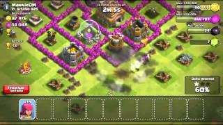 ATAQUE 160  ARQUERAS \CLASH OF CLANS