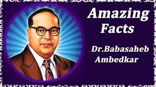 Amazing Facts About Dr. Babasaheb Ambedkar | Marathi Topic