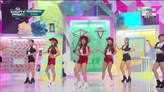 KARA (카라) - 'CUPID 큐피드' @ M! Countdown Comeback Live Stage 150528