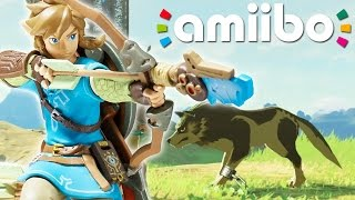 Zelda: Breath of the Wild - Amiibo-Features & Wolf-Link im Überblick