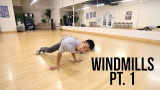Learn How To Breakdance | Beginner Windmills Pt. 1 | Power Move Basics width=