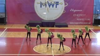 KALIMERO   MS 2016   Poreč   miniformace pompon juniors Vyškov