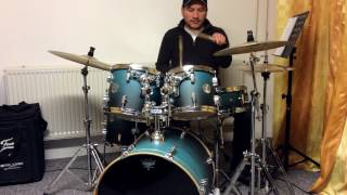 Frank Vidal - Kizomba On Drums