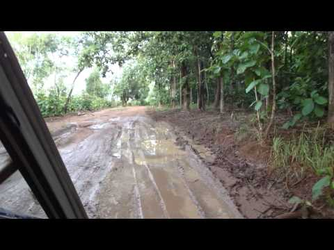 Road from Juba to Yei in South Sudan Africa 17