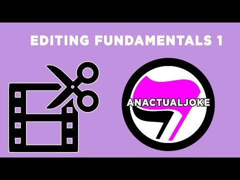 My Fundamentals of Editing - Episode 1 : Cuts, Rhythm, and Pacing