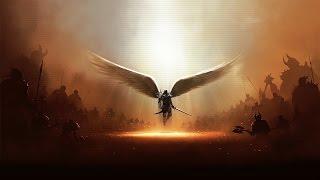 Archangel Michael Through the eye of the needle via KERSTIN ERIKSSON