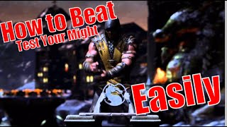 How to Beat Test Your Might Easily (MKX)