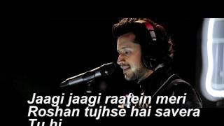 Atif Aslam New Song Musafir With Lyrics width=