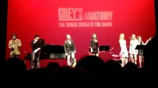 Grey's Anatomy Benefit Concert - Running on Sunshine (March 18,2012)