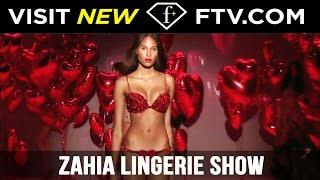 Zahia Lingerie Show 3 | Paris Couture Fashion Week Fall/Winter 2012/13 | FTV.com