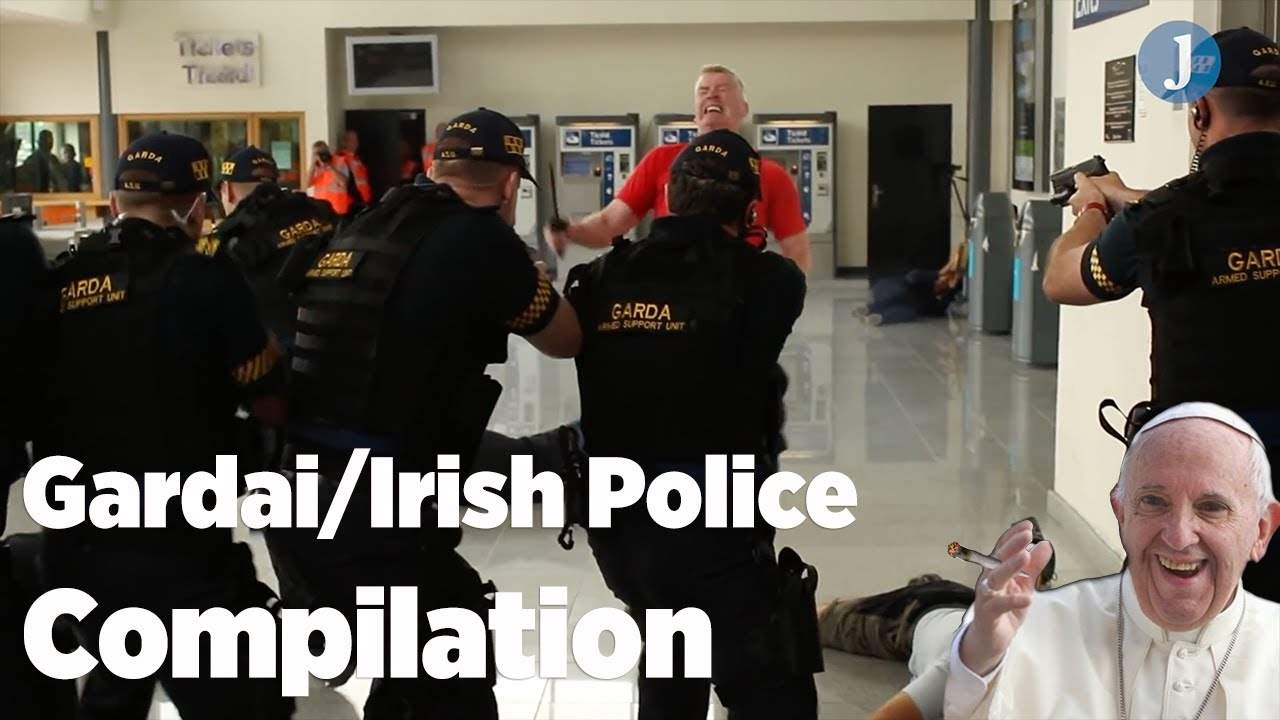 Irish Gardai -Funny Compilation – 😂😂