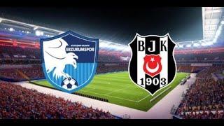 B.B Erzurumspor 3 2 Beşiktaş Geniş maç özeti 22 ocak 2020