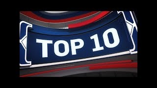 Top 10 Plays of the Night   March 17, 2018