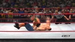 WWE'13- Online John Cena vs Brock Lesnar (extreme rules) + Epicka końcówka .