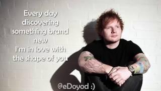 LIRIK LAGU shape of you (lyrics) Ed Sheeran