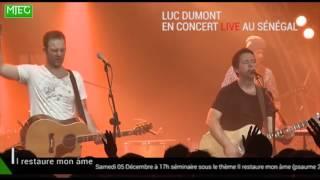 LUC DUMONT en concert live à Dakar