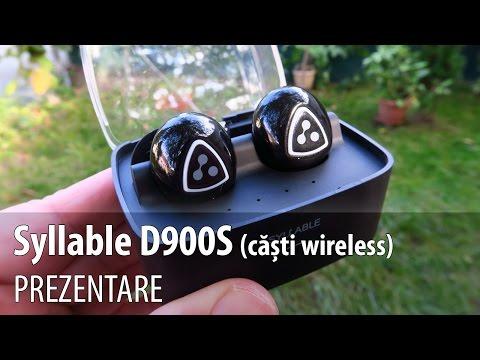 Syllable D900S Review (Căşti Bluetooth elegante cu doc de încărcare)