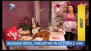 Silvana Riciu- ultimele pregatiri inainte de Paste- 30aprilie 2016