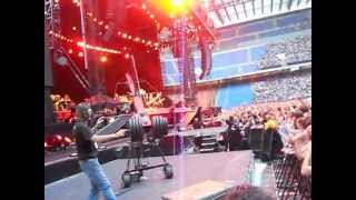 BRUCE SPRINGSTEEN, DEATH TO MY HOMETOWN, MILANO 2012