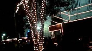Noite de natal da Praça da Liberdade em Belo horizonte