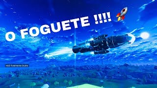 A DECOLAGEM DO FOGUETE!! - FORTNITE ‹Rafinters›