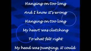 Hanging On Too Long - Duffy Lyrics