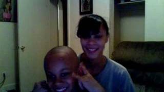 Mommy & Malachi singing to Sound Twins