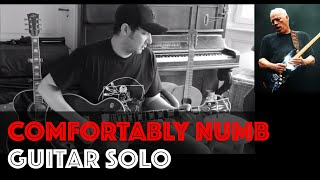 Comfortably Numb Guitar Solo Cover