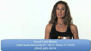 Miami Plantar Fasciitis sufferers - Good Feet Miami Customers discover Foot Pain, Arch Pain Relief