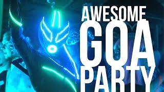 Awesome Goa PARTY!!! / Freaks Carnival! Beach Party in Arambol, Goa