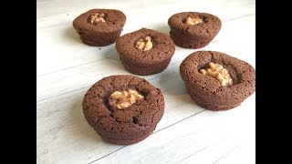 Así se prepara un brownie sin gluten