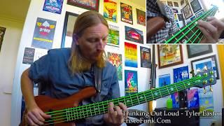 Ed Sheeran -Thinking Out Loud (Bass Instrumental) - Tyler Easton