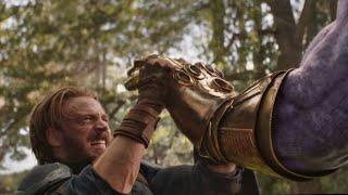 All Avengers: Infinity War Death Scenes HD *SPOILERS*