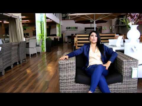 סרטון: ריהוט גן: הכל על ראטן סינטטי