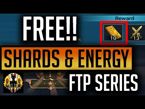 RAID: Shadow Legends | FREE SHARDS & ENERGY for New Players! 3v3 Arena actually positive! FTP Series