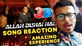 ALLAH DUHAI HAI 3D SONG | RACE 3 | REACTION | REVIEW | Salman Khan, Jacqueline, Daisy Shah