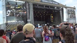 "Pennywise's Cover of Beastie Boys ""Fight For Your Right"" Live at Carolina Rebellion 2016"