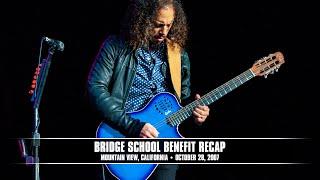 Metallica: Bridge School Benefit Recap [Night 2] (MetOnTour - Mountain View, CA - 2007)