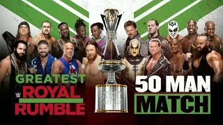 WWE Greatest Royal Rumble Official and Full Match Card
