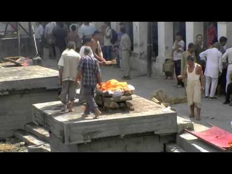 Human Cremation, Pashupatinath, Nepal