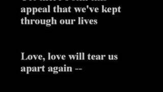 The Cure - Love will tear us apart (Joy Division)
