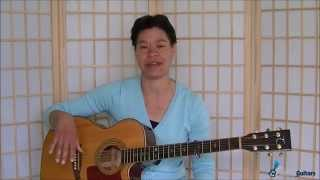 Shotgun Down The Avalanche  - Guitar Lesson Preview width=