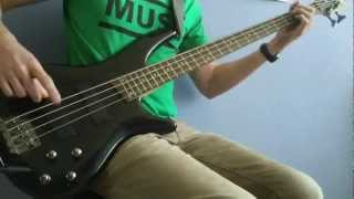 ♫ HD│Muse - Muscle Museum (Bass cover)