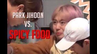 Wanna One Park Jihoon vs. Spicy Food & Eating