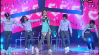 [K-Chart] 8. [▼4]  Love U - Seo In-guk (2010.5.28 / Music Bank Live)