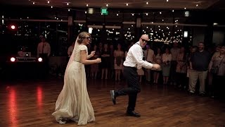 BEST surprise father daughter wedding dance to epic song mashup   Utah Wedding Videographer
