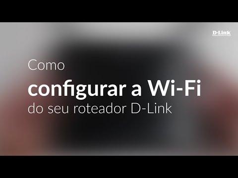 Como configurar a sua rede Wi-Fi